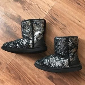 UGG sparkly boots